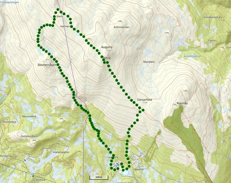 12 km Norefjellmarsjen